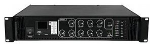 Omnitronic Wzmacniacz miksujący 6 strefowy 120 W RMS MPZ-120.6P PA mixing amplifier 80709719