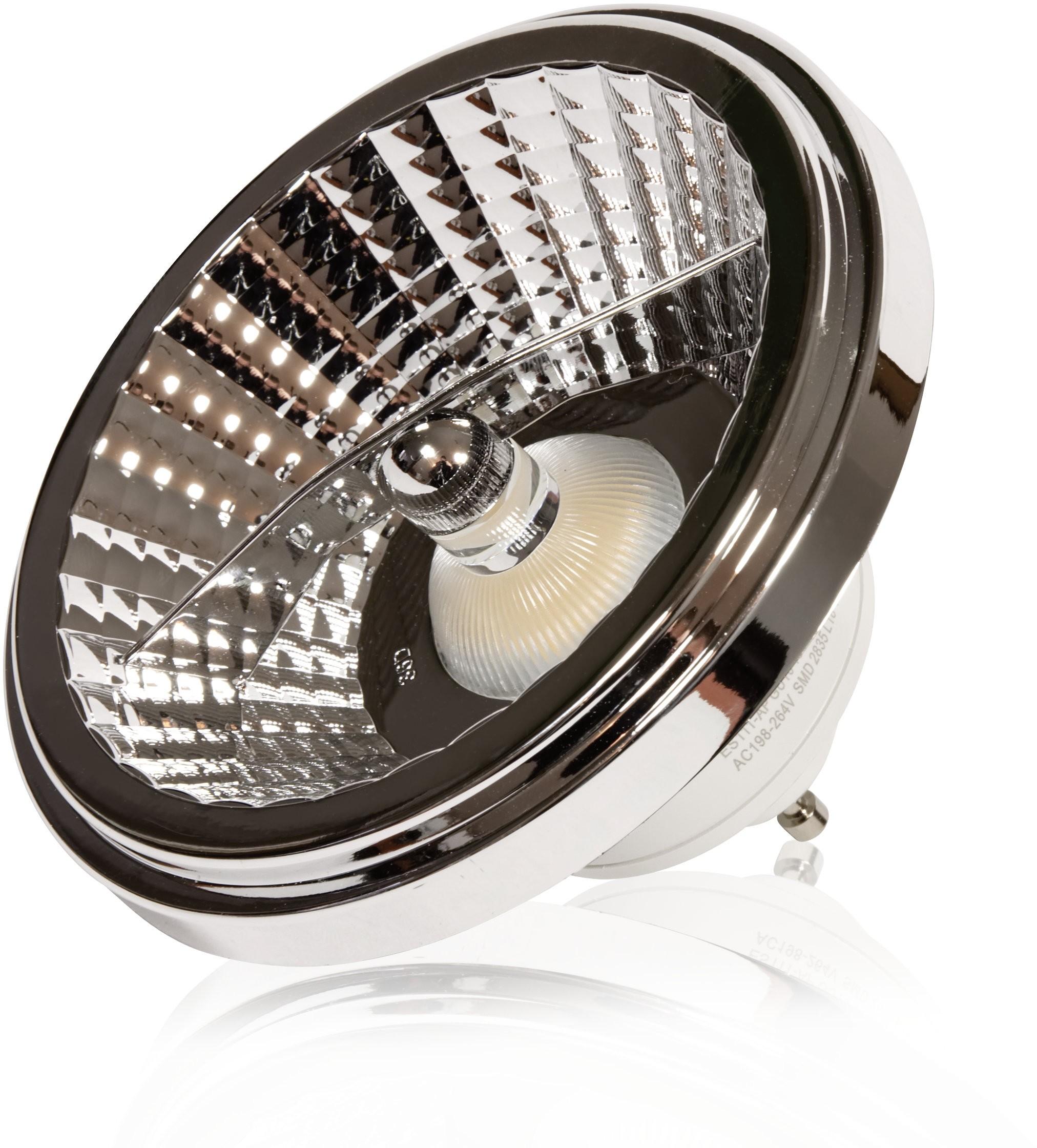 LEDlumen ES111-AP GU10 230V 15W LED 35 st. CCD WW