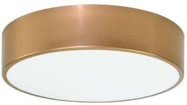 TEAM Plafon LAMPA sufitowa 137623692078/3000K TEAM okrągła OPRAWA metalowa LED 24W natynkowa do łazienki IP54 złoty 137623692078/3000K