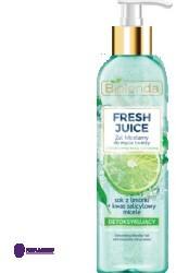 Bielenda Fresh Juice Limonka Detoksykujący żel micelarny 190g