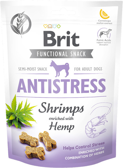 Brit BRIT CARE DOG FUNCTIONAL SNACK SHRIMP ANTISTRESS 150g 37241-uniw