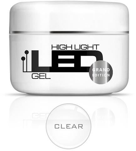 Silcare żel High Light LED Clear 100g