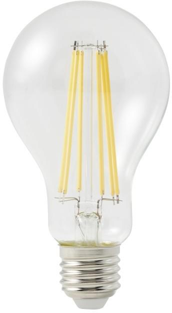 Diall Żarówka LED A67 E27 12 W 1521 lm przezroczysta barwa ciepła DIM TA66C11