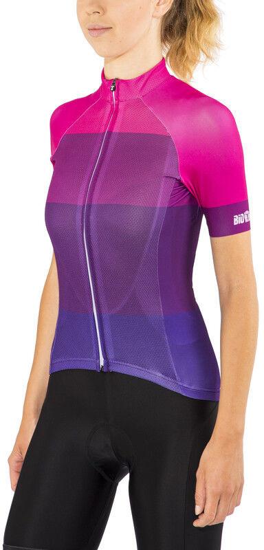 Red cycling products Red Cycling Products Colorblock Race Koszulka rowerowa z zamkiem błyskawicznym Kobiety, purple-pink S 2020 Koszulki kolarskie CO_IS51340D-18-001986 -S