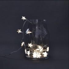 House Doctor Sznur Lampek LED Gwiazdki ta0101
