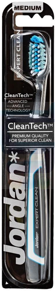 Jordan Expert Clean Szczoteczka do zębów Medium 1 szt.