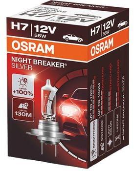 Osram H7 Night Breaker Silver + 100% Box 64210NBS