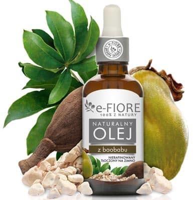 e-FIORE Olej z Baobabu naturalny, nierafinowany 50ml