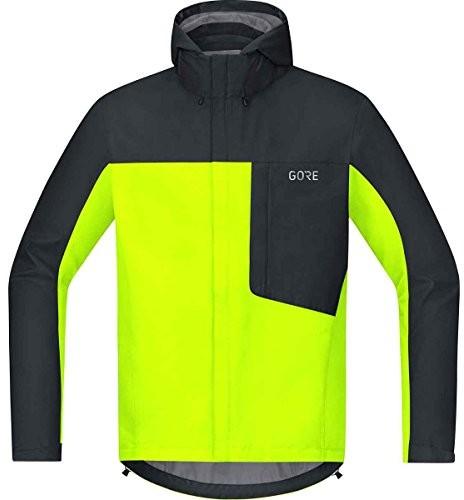 Gore Wear męska C3 Tex paclite kurtka z kapturem, żółty, l -0899-Large100036089905-0899