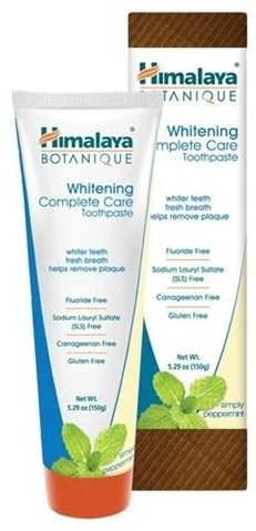 Himalaya Botanique Whitening Complete Care Toothpaste wybielająca pasta do zębów Simply Peppermint 150g 51573-uniw