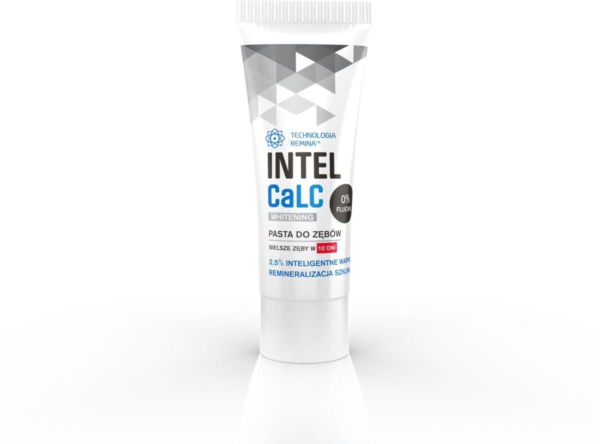 Tołpa intelcalc, pasta do zębów Whitening, 18 ml