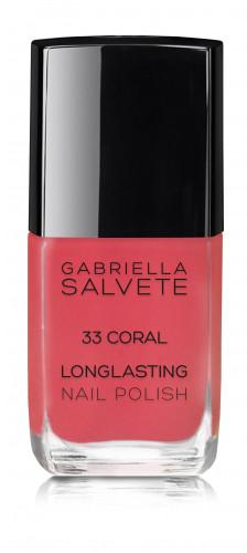 Gabriella Salvete Longlasting Enamel lakier do paznokci 11ml 33 Coral