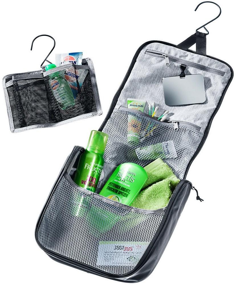 Deuter Duża i pojemna kosmetyczka Wash Center II - khaki / ivy 390052022430