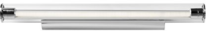 Lucide lucide Matthew-lampa ścienna LED-1X 12W 3000K-IP21, aluminium, zintegrowane, 12W, satynowa chromowana, 61x 11x 6cm 48201/12/12