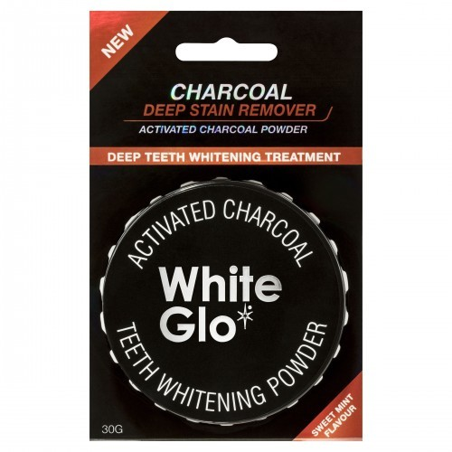 White Glo White Glo Węgiel w proszku do wybielania zębów 30g