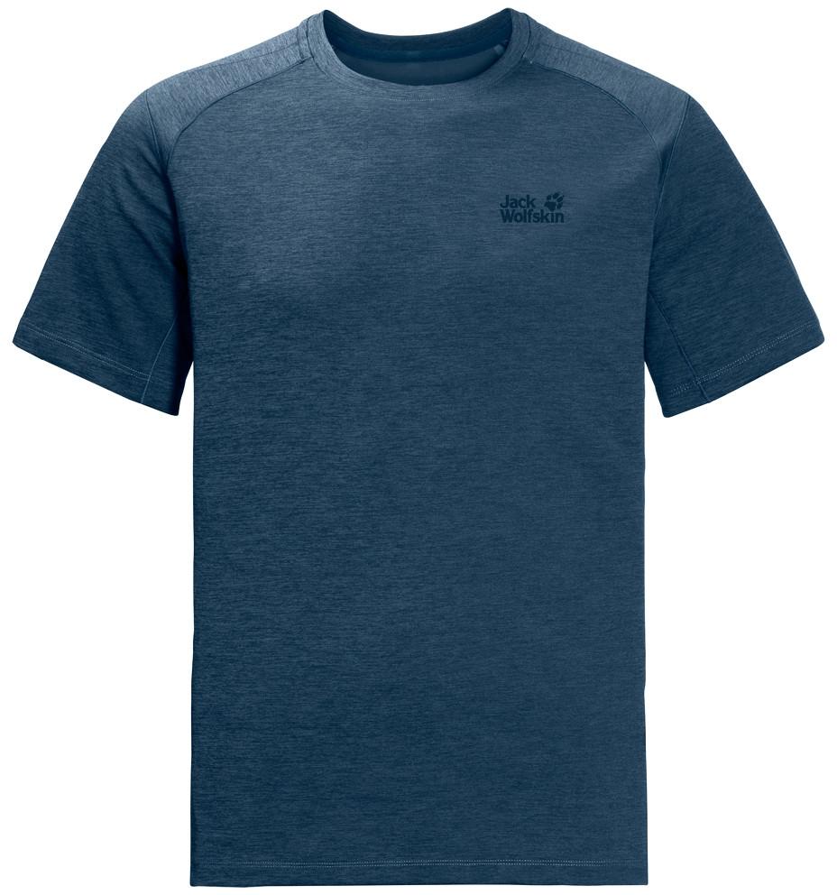 Jack Wolfskin Koszulka HYDROPORE XT MEN poseidon blue