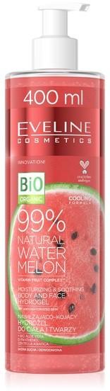 Eveline Hydrożel Watermelon 99% nawilżająco-kojący 400ml