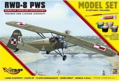 """Mirage Hobby Samolot Szkolno - Łącznikowy """"RWD-8 PWS"""" - wysyłka w 24h !!!"""