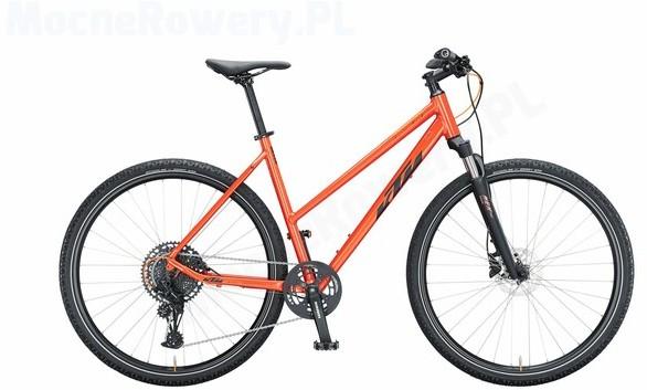 KTM Life Cross DA 2021 fire orange (black matt) 28 cali