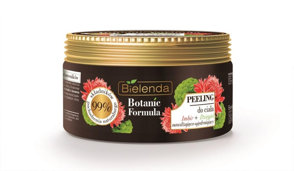 Bielenda Botanic Formula Imbir+Dzięgiel Peeling do ciała 350g
