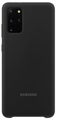 Samsung Etui Silicone Cover do Galaxy S20+ Czarny EF-PG985TBEGEU