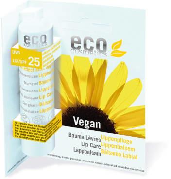 Eco Cosmetics Balsam do ust w sztyfcie SPF 25 VEGAN 4g