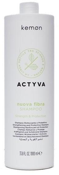 Kemon ACTYVA NUOVA FIBRA SHAMPOO - szampon odbudowujący 1000 ml 3980