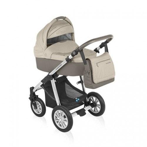 Opinie o Baby Design Wózek głębokospacerowy Dotty (szaro-beżowy)