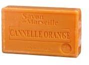 Mydła naturalne - różne rodzaje Marsylskie mydło Pomarańcza Cynamon 100 g SA100119