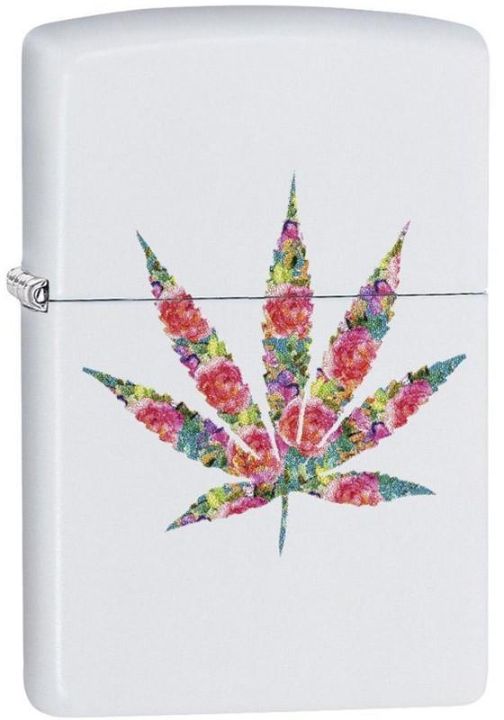 Zippo 29730 Floral Weed Design zapalniczka 191693062380