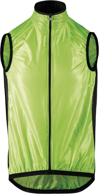 Assos Mille GT Kamizelka przeciwwiatrowa Mężczyźni, visibility green M 2020 Kamizelki 13.34.338.67.M