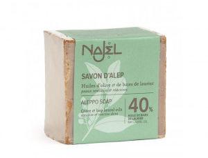 NAJEL Mydło oliwkowo-laurowe Aleppo 185g (40% oleju laurowego)