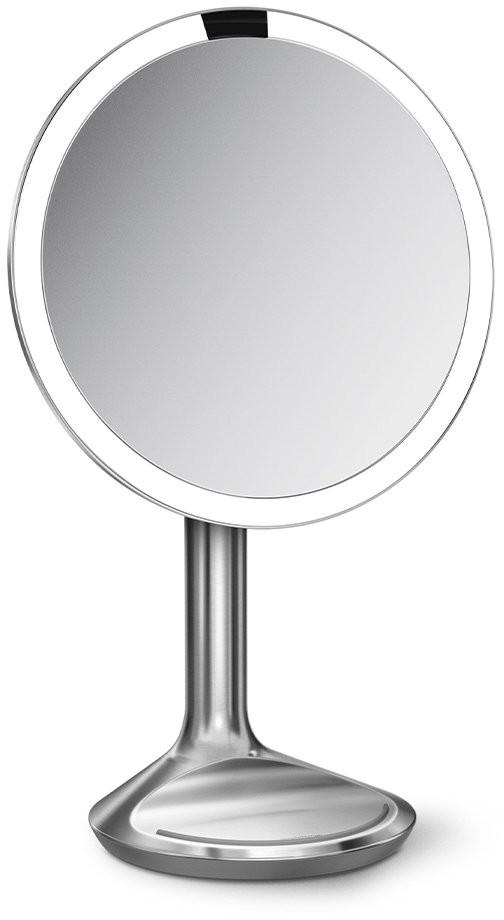 SimpleHuman SENSOR Lustro Kosmetyczne do Makijażu - Powiększające, z Podświetleniem 20 cm Srebrne ST3036