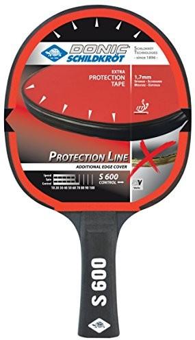 Donic Schildkröt rakietki do tenisa stołowego Protection rakietka do tenisa stołowego, wielokolorowa, S600 723056