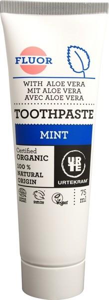 Urtekram Pasta do zębów z miętą i fluorem 5586