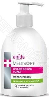 Scan Anida Medi soft emulsja do rąk z wosku pszczelego 500ml