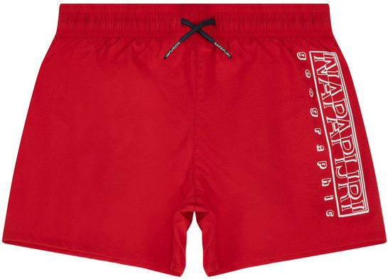 Napapijri Szorty kąpielowe Voli NP0A4E4F M Czerwony Regular Fit