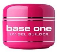 Silcare Base One UV Gel Builder żel UV do stylizacji paznokci Clear 30g