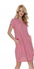 Doctor Nap Koszula nocna ciążowa i do karmienia DN - RED TCB.9625 RED