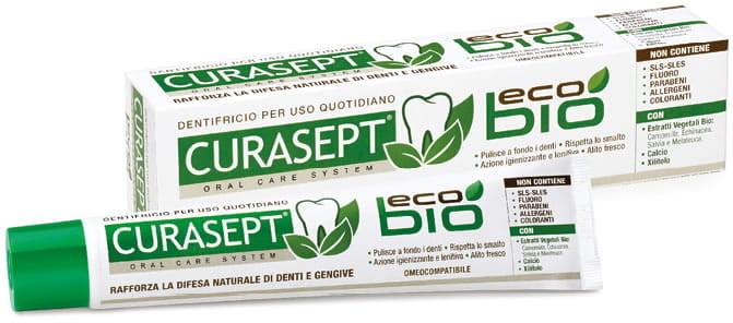 Curasept Curasept ECO BIO - naturalna pasta do zębów bez sls, parabenów i fluoru 75 ml