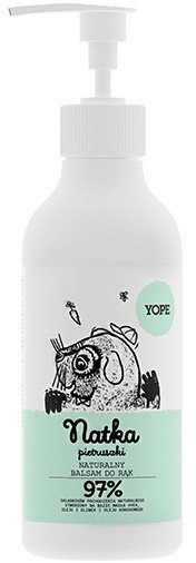 YOPE Naturalny balsam do rąk Natka Pietruszki 300ml 300ml NN-KYO-E300-007