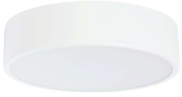 TEAM Plafon LAMPA sufitowa 137623691224/3000K TEAM metalowa OPRAWA okrągła LED 24W natynkowa aba disc biała 137623691224/3000K