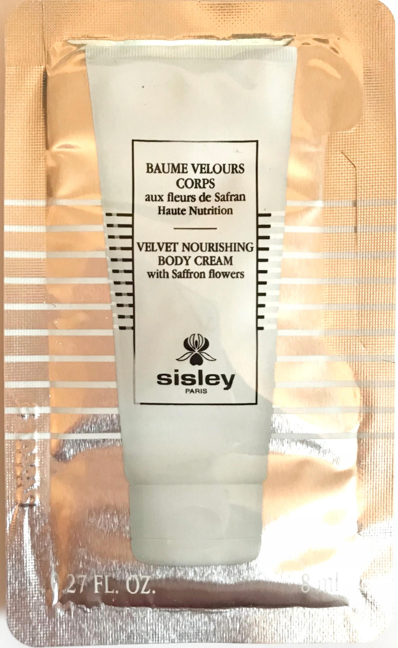 Sisley Velvet Nourishing Body Cream 8ml