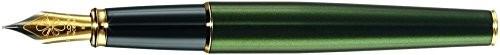 Diplomat d40211023Excellence A2fountain Pen z ostrzem ze stali drobno, Evergreen złoty D40211023