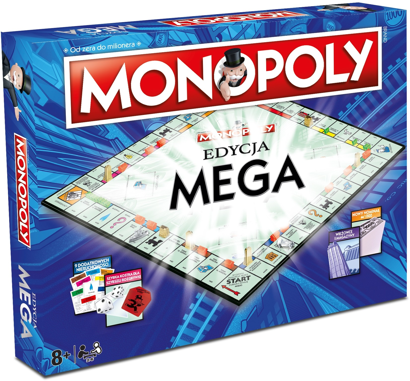 Monopoly edycja MEGA