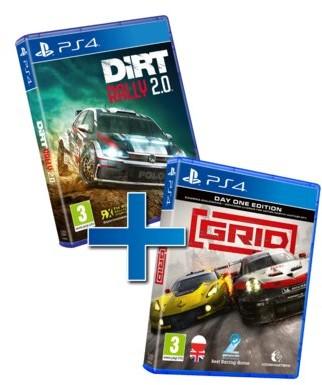 Racing Pack GRID & DiRT Rally 2.0 (GRA PS4)