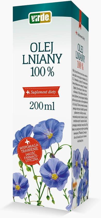 Virde Olej lniany 100% 200ml 6630-92918