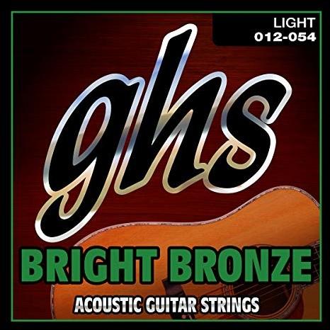 GHS BB30L 12-54 jasnobrązowy zestaw strun do gitary akustycznej GHSBB30