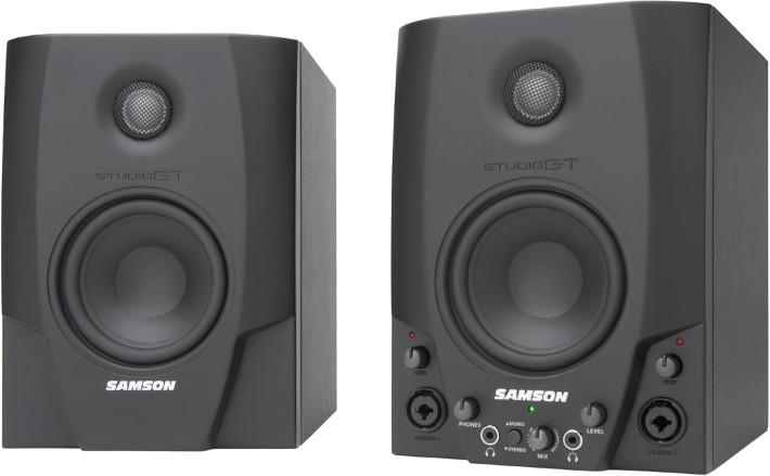 Samson Studio GT - para monitorów bliskiego pola z interfejsem audio