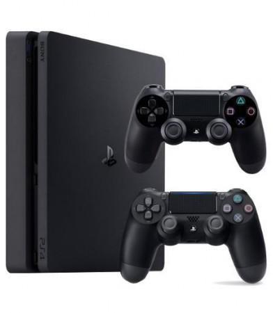 Sony PlayStation 4 Slim 500 GB Czarny + The Sims 4 + 2x Dualshock 4